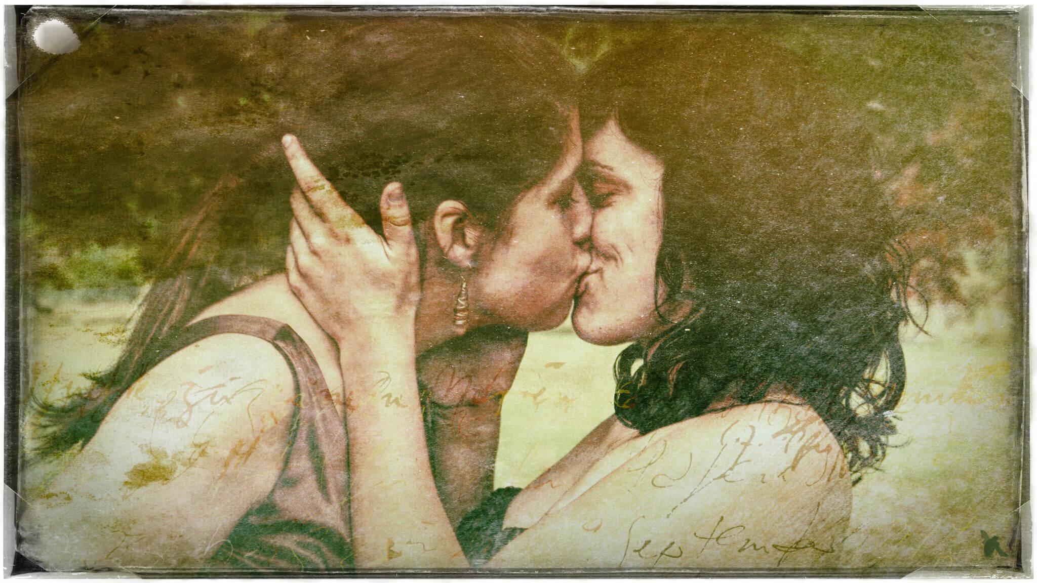 Nur küssen